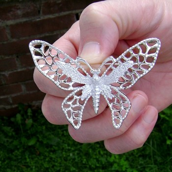 Sarah Coventry Brooch - Madame Butterfly - Costume Jewelry