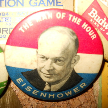 Eisenhower pin - Medals Pins and Badges