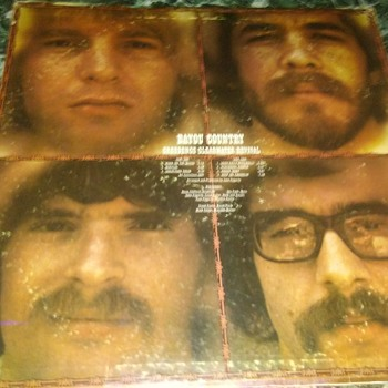 Creedence Clearwater Revival...On 33 1/3 RPM Vinyl - Records