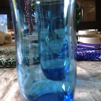Blue juice glasses - Glassware