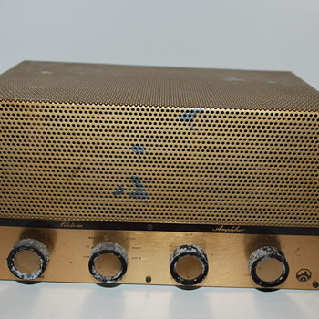 1956 Pilot AA-903 Mono Integrated Amplifier. Complete