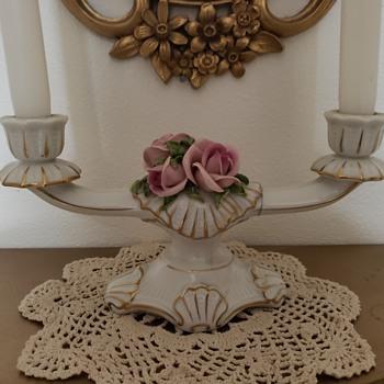 Porcelain Candle holder - Lamps