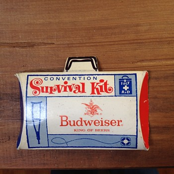 Budweiser survival kit - Breweriana