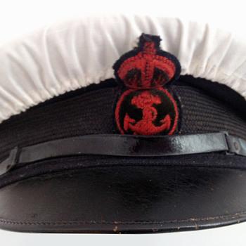 WWII British Royal Navy Junior ratings visor cap. - Military and Wartime