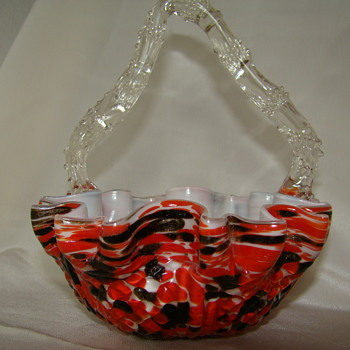 More Welz's baskets 4 - Art Glass