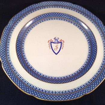 Copeland Spode Thomas Jefferson Plate - China and Dinnerware