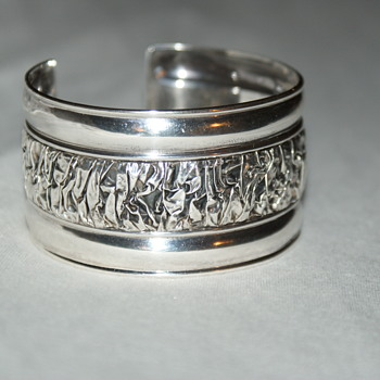 Sterling Bangle - Fine Jewelry