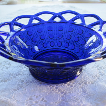 Imperial patterns cobalt color glass- is it really Imperial? - Glassware