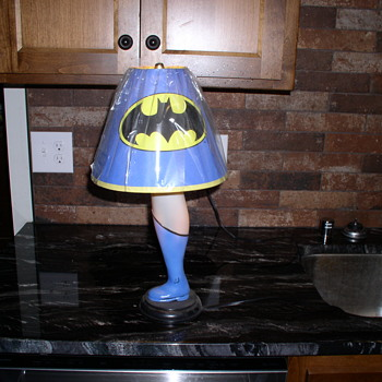 Leg Lamp  Bat Man  - Lamps