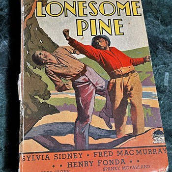 Read the Book!  See the Picture!  'The Trail of The Lonesome Pine' with Henry Fonda - Books