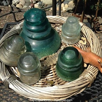 GIANT Glass Insulator