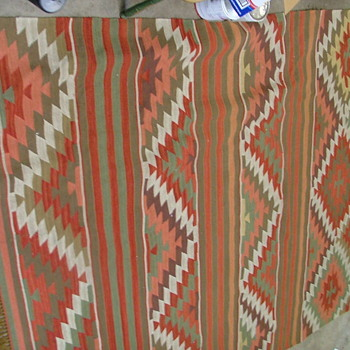 Need help ID Rug/blanket & Carving - Native American