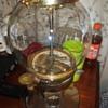 RARE carousel gold gumball machine