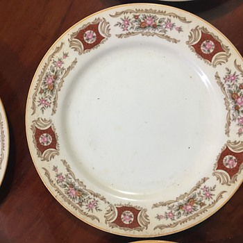 My family's plate - China and Dinnerware