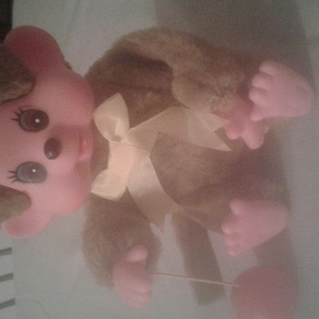 wind up monkey toy from korea  - Animals