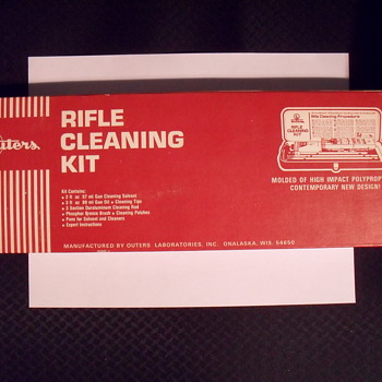 Outers Rifle cleaning kit.