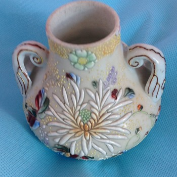 Oriental two handled vase - Asian