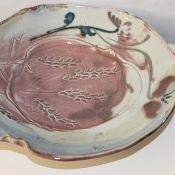 stunning studio pottery bowl - Pottery