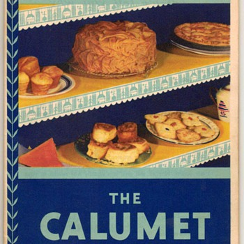 1931 - Calumet Baking Powder Recipe Booklet - Books