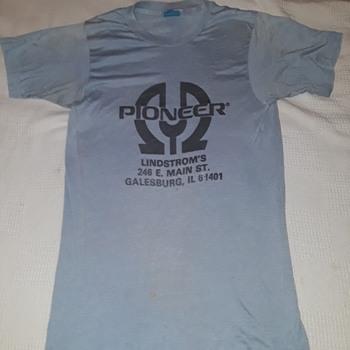vintage T-shirt, PIONEER STEREO - Advertising