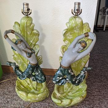 Green Dancer lamps - Lamps