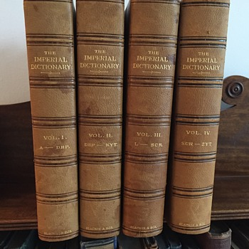 The Imperial Dictionary of the English Language 1883 - Books
