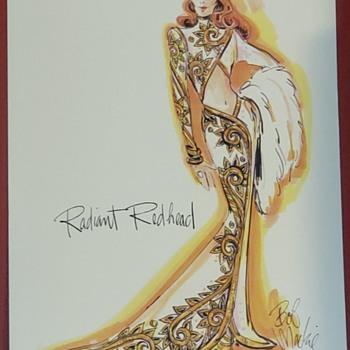 Radiant Redhead by Bob Mackie - Fine Art