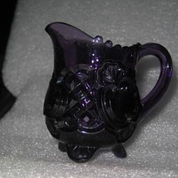 "EAPG Riverside Glass Works ""CROESUS"" creaner  - Glassware"
