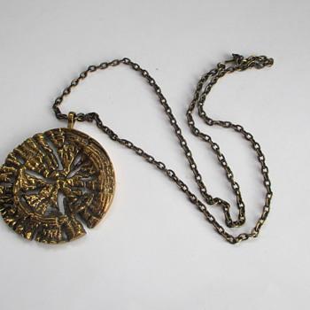 Large Bronze pendant Pentti Sarpaneva - Fine Jewelry