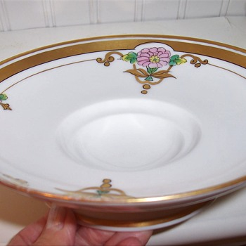 """Noritake W.A. Pickard China 7"""" Bowl w/ Indented Center, - China and Dinnerware"""