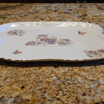 Porcelain tray - China and Dinnerware