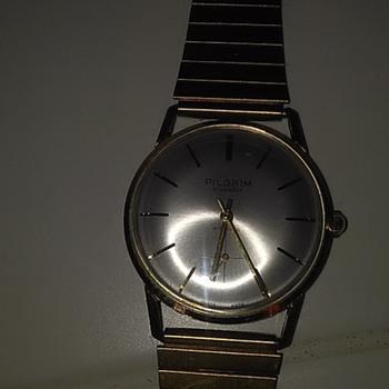 Swiss Pilgrim 17 jewel men's watch