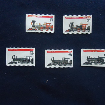 LOCOMTIVE STAMPS..