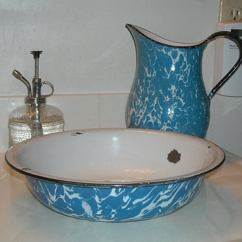 Graniteware Wash Basin - Kitchen