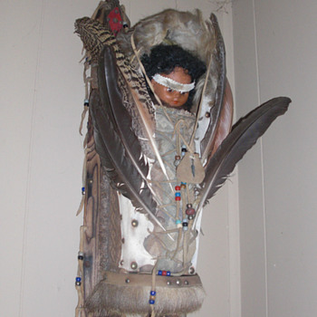 Native American Storytellers doll - Dolls