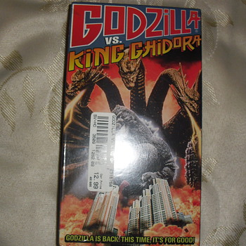 Godzilla Vs King Ghidora Vhs