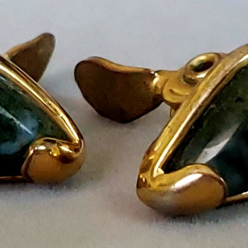 Monet earrings and what are these stones??! part 1 - Costume Jewelry