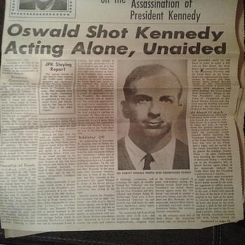 The Warren report 1964 - Paper