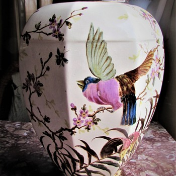 ROYAL CROWN DERBY MYSTERY VASE - Pottery
