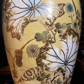 Very large Satsuma Vase - Asian