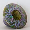 one iridescent vase