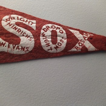C.1951 Red Sox team pennant - Baseball