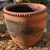 Very large Mexican Terracotta Planter - 15-20 gal size