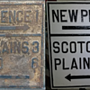Restoration of my 1920s Union County NJ Guide Sign