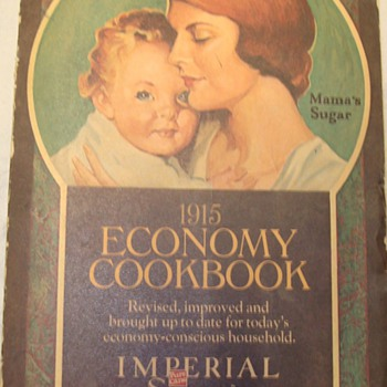 1915 Economy Cookbook / Imperial Sugar - Books