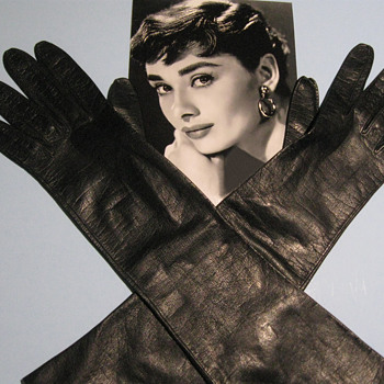 Audrey Hepburn . . . Evening Gloves