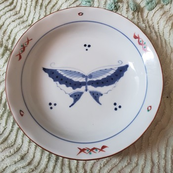 My favorite Butterfly dessert plates - Asian
