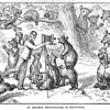 """1888 Engraving – """"An Amateur Photographer in Peltyville"""""""