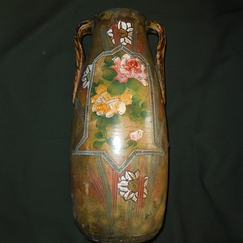 Antique Pottery Vase Another Sunday Flea Market Find Any Ideas? :^) - Art Deco