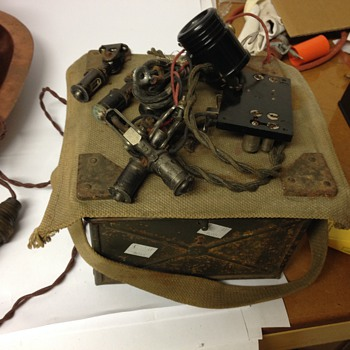 1930's Military Selection of Lighting Items / Equipment - Electronics